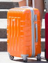 スーツケースが壊れてしまった!